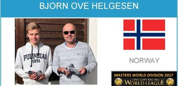 Bjørn Ove Helgesen. 6th Place Masters World Division 2017, will Compete in 2018 to improve his results