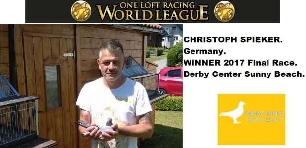 Christoph Spieker, Germany, winner Derby Center Sunny Beach Final Race 2017.