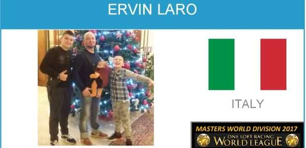 ERVIN LARO (Italy). MASTERS WORLD CUP 2017 CHAMPION.