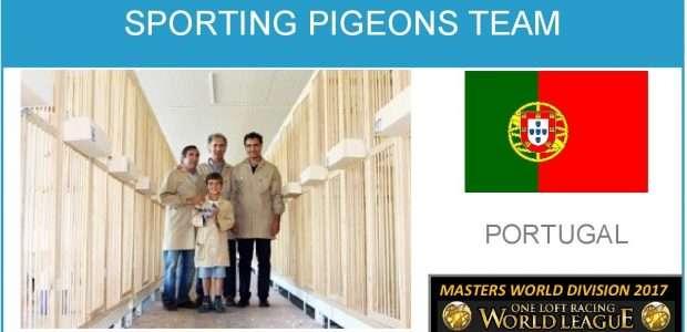 SPORTING PIGEONS TEAM (Portugal). SPEED Championship 2017 CHAMPION.