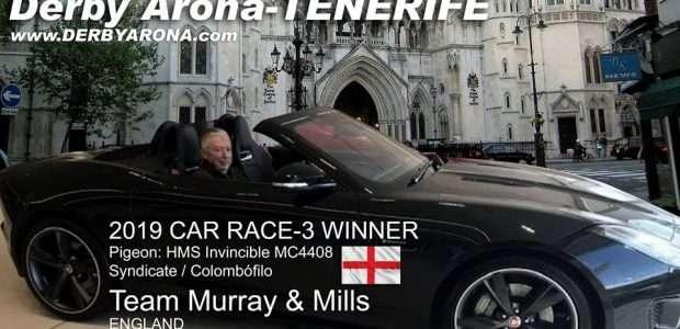Team Murray and Mills 2019 car race-3 Winner